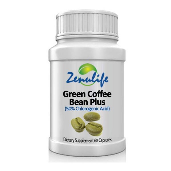 Green Coffee Bean Pure Extract Capsules 400mg With Chlorogenic
