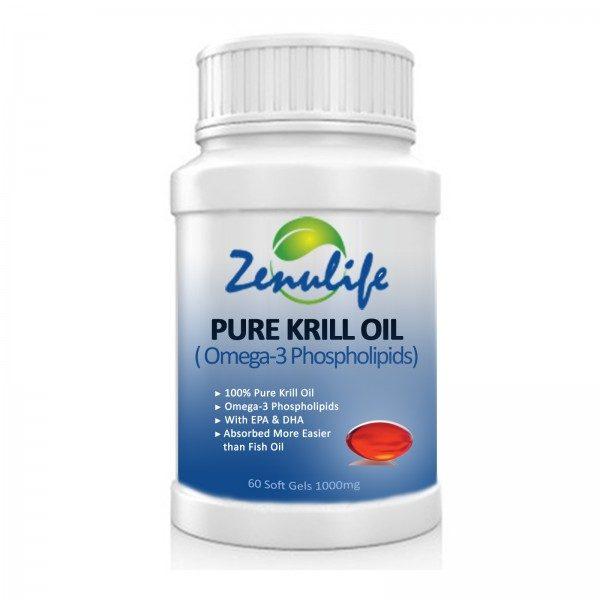 Krill Oil Soft Gels